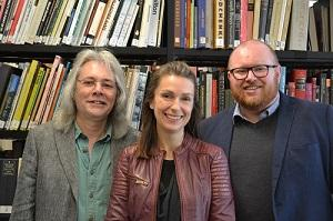 Paul Catley, Dr Zoe Walkington and Dr Matthew Jones
